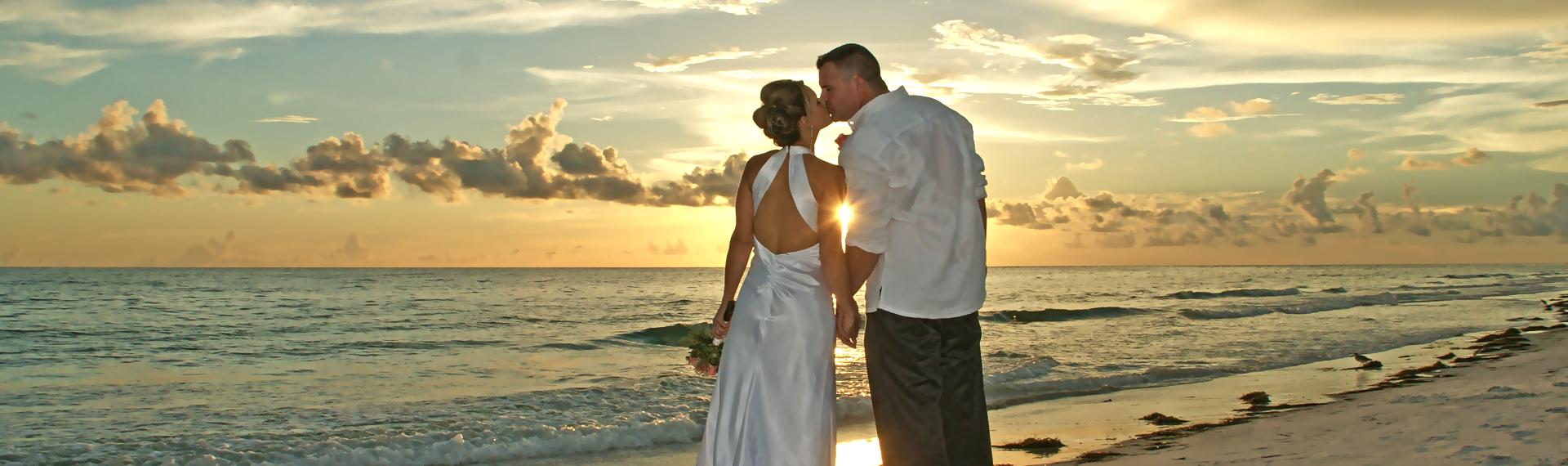 Sarasota Beach weddings by Lortz